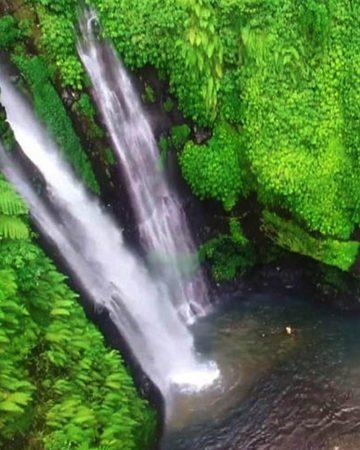Watervallen van Sekumpul